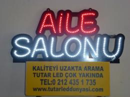 Aile Salonu - Led Tabela